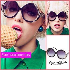 🏷 🆕 Swarovski Crystal Sunglasses Alice + Olivia